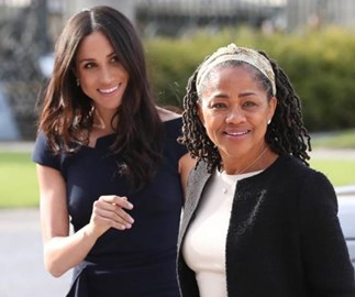 Did Meghan Markle's mum Doria Ragland just fly from LA to London to see her pregnant daughter?