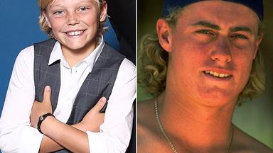 Woah! Lleyton and Cruz Hewitt look IDENTICAL in new family pics