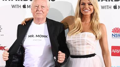 Sophie Monk just walked the ARIA Awards red carpet with her dad and we didn't know we could love her anymore