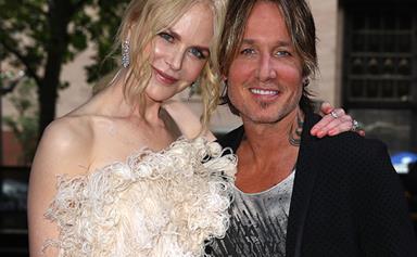 Nicole Kidman and Keith Urban's PDA on the ARIA Awards red carpet