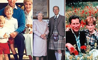 These Royal Christmas card photos tell us A LOT about life in the Palace