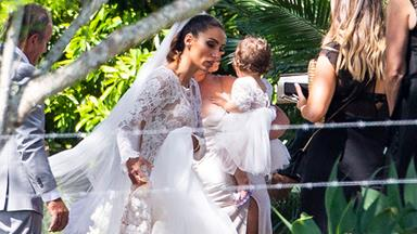 Sam Wood and Snezana Markoski marry in a dreamy Byron Bay wedding