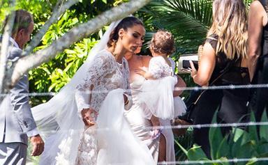 Sam Wood and Snezana Markoski marry in a dreamy Byron Bay wedding