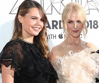 Nicole Kidman brings her niece Lucia on the red carpet and we can't stop staring