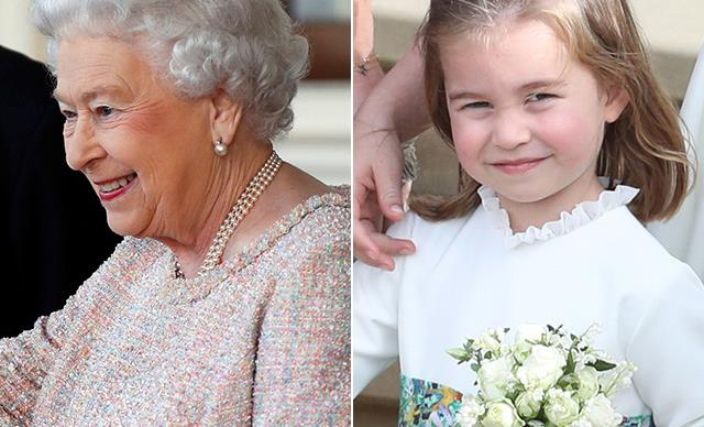 This adorable never-before-seen picture of the Queen and Princess Charlotte has us swooning