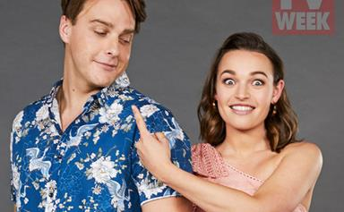 Home and Away's Tim Franklin and Courtney Miller on playing Summer Bay's newest siblings