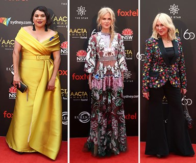 All the looks from the 2018 AACTA Awards red carpet