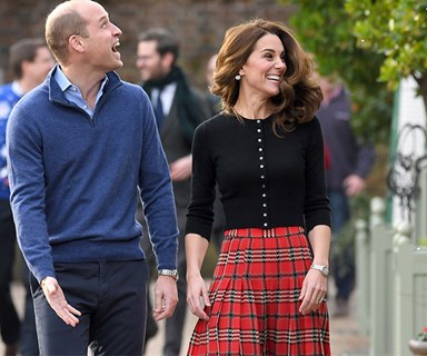 Duchess Catherine dons festive tartan as she and Prince William host Christmas bash