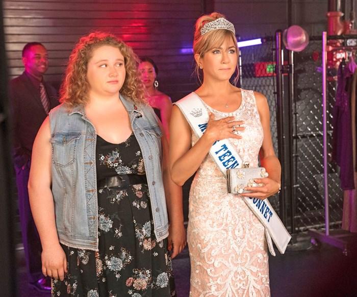 Danielle Macdonald shines as the daughter of Jennifer Aniston's pageant queen mum in Dumplin'