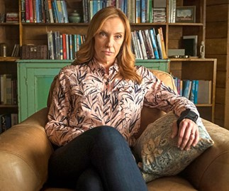 Toni Collette reflects on her own marriage while playing a couples therapist in Netflix's Wanderlust