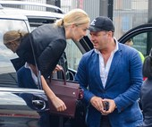 Karl Stefanovic and Jasmine Yarbrough honeymooning with the kids