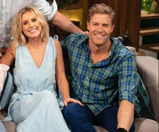 Dr Chris Brown and Liv Phyland: 'We're having a baby!'