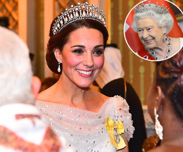 Duchess Catherine, The Queen