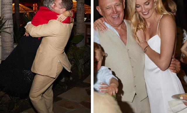 Inside the party! Karl Stefanovic and Jasmine Yarbrough's wedding festivities have begun