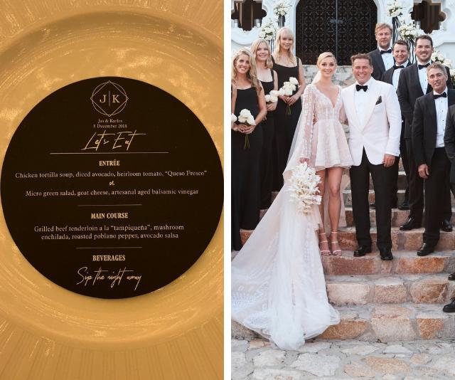 EXCLUSIVE: Inside Karl Stefanovic and Jasmine Yarbrough's wedding reception