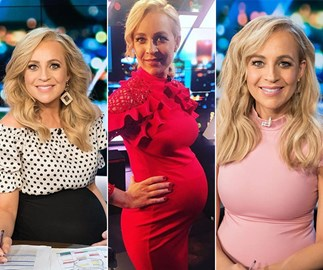 The best maternity fashion moments from brand-new mum Carrie Bickmore