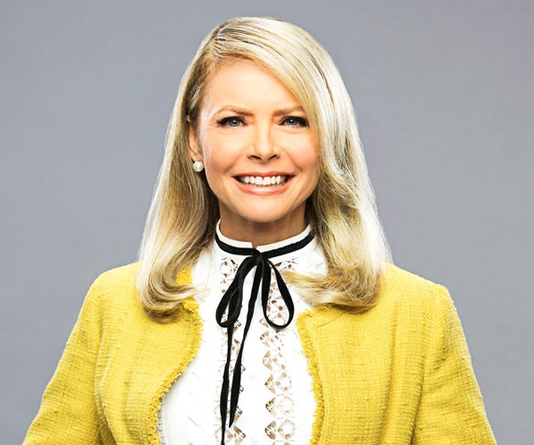Murphy Brown's Faith Ford isn't expecting a tweet from the President