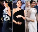 Duchess Meghan Markle's best maternity fashion moments