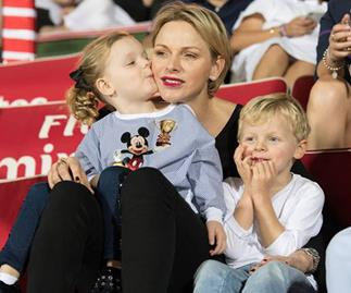 Princess Charlene, Prince Jacques, Princess Gabriella
