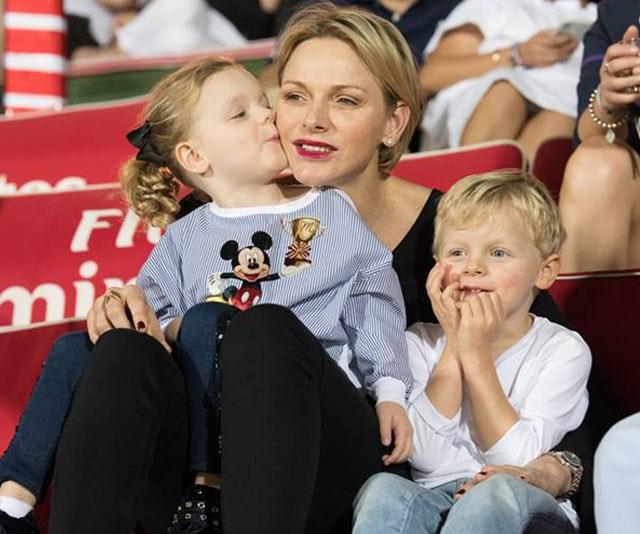Princess Charlene, Prince Jacques, Princess Gabriella