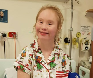 Aussie model Madeline Stuart in recovery after open heart surgery