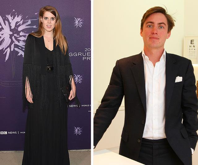 Princess Beatrice and her boyfriend, Edoardo Mapelli Mozzi. *(Source: Getty)*
