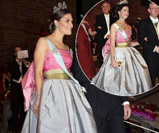 Swedish royal Princess Victoria just wore her mum's dress from 23 years ago and it's STUNNING