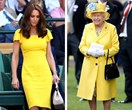 The best twinning moments between Kate Middleton and the Queen