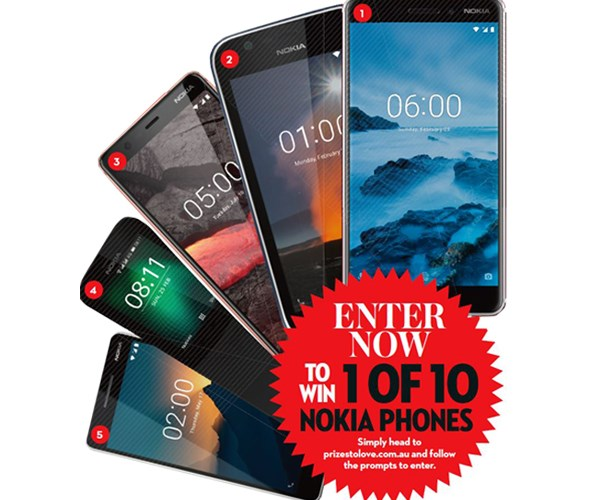 OK! 10 Nokia phones to WIN!