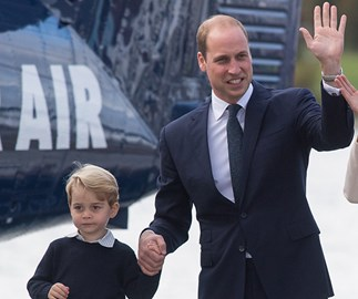"Prince George apparently thinks Prince William is ""useless"" at this one thing"