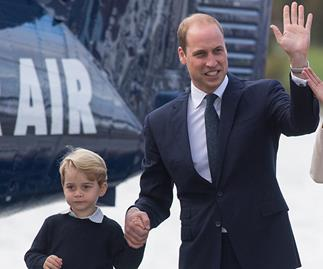 Prince William jokes that Prince George knows he's useless at this one thing