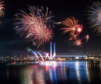 6 of the best free, family-friendly vantage spots to watch Melbourne fireworks
