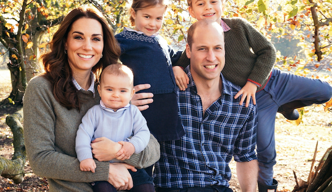 The royals just released their Christmas card photos for 2018 and it's a feast for the eyes