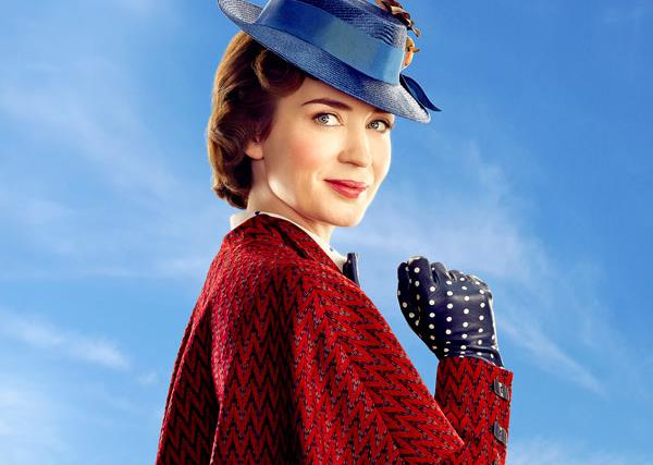 Emily Blunt takes over from Julie Andrews in Mary Poppins Returns - and she's practically perfect in every way!