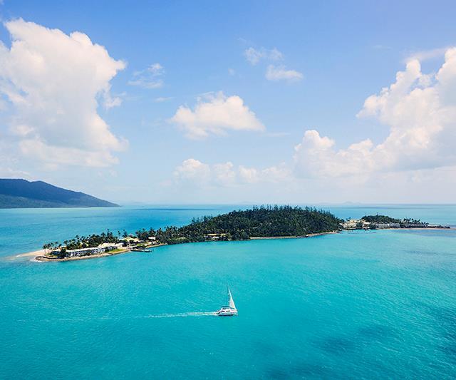 Daydream resort island