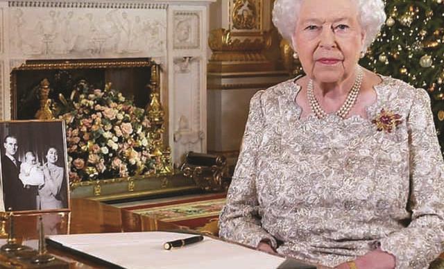 Queen Elizabeth Christmas message 2018