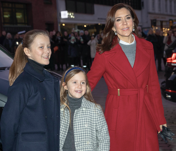 Crown Princess Mary spent Christmas Day in the most wholesome way possible