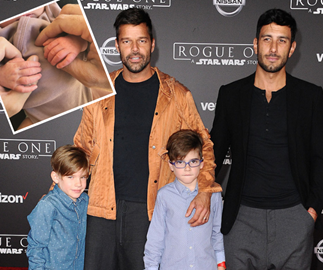 Ricky Martin has surprised fans with the arrival of a baby girl