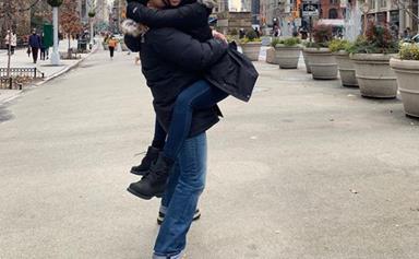 James Stewart and Sarah Roberts' romantic New York holiday
