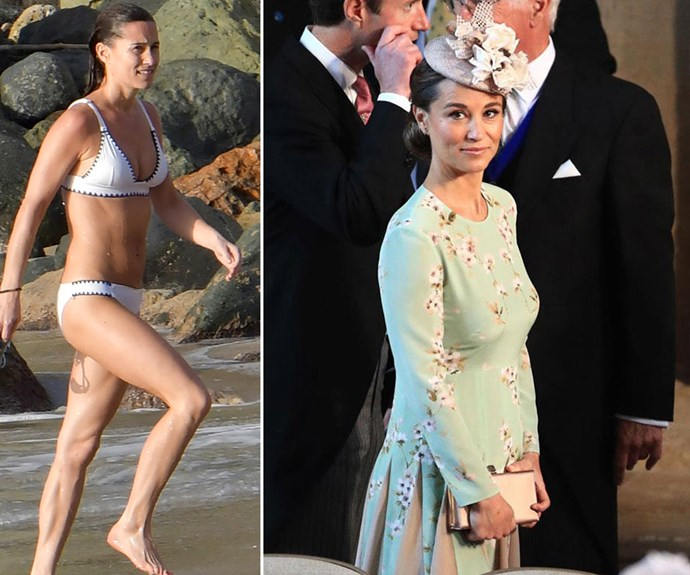 Pippa Middleton just rocked a bikini 11 weeks after giving birth and WOAH