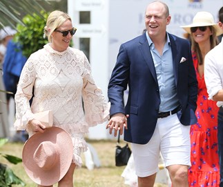 Sporty royals Zara and Mike Tindall have touched down in Australia