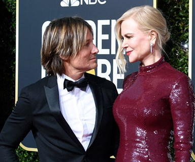 Nicole Kidman and Keith Urban's loved-up display at the 2019 Golden Globe Awards