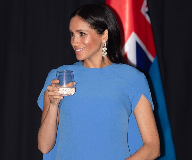 Duchess Meghan's secret earrings have a special connection to Prince Harry that'll melt your heart