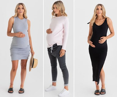 Stylish maternity fashion that will make you feel fab, not frumpy