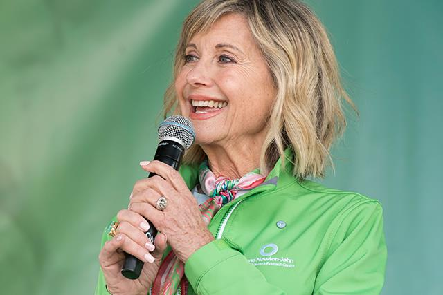 How Olivia Newton John isn't letting cancer affect her mental health