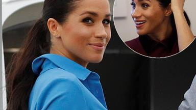 The surprising way Duchess Meghan's hair has changed throughout her pregnancy