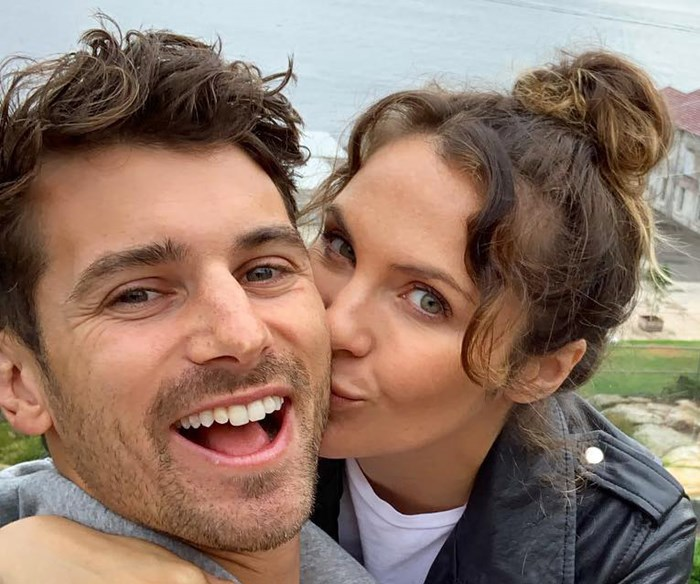 Matty J and Laura Byrne's adorable 20-week pregnancy update