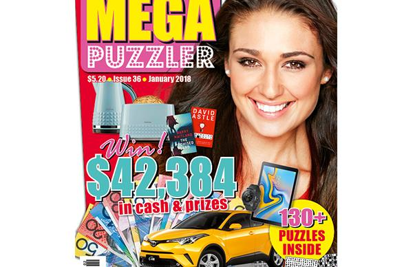 Mega Puzzler Issue 36 Coupon