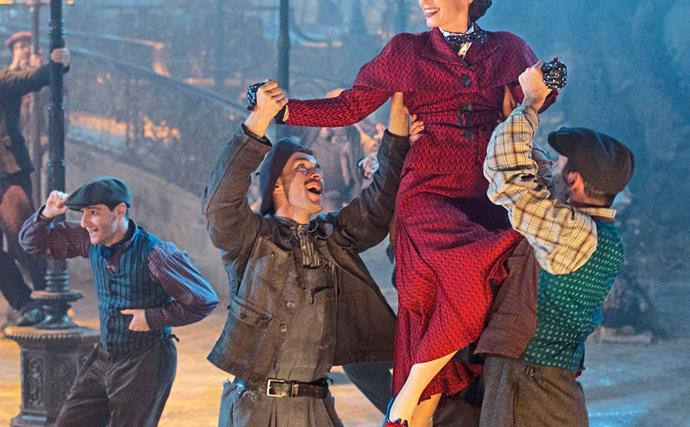 This behind-the-scenes clip from Mary Poppins Returns is blowing fan's minds