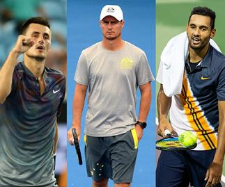 Australian tennis bad boys: Inside Bernard Tomic, Lleyton Hewitt and Nick Kyrgios' feud